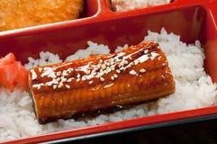 Japanisches Bento Mittagessen Stockbild