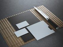 Japanisches Brandingmodell Stockfotografie
