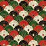 Japanisches Chrysanthemenmuster Lizenzfreie Stockfotos