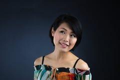 Japanisches Damendenken Stockfotografie