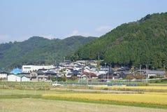 Japanisches Dorf lizenzfreies stockbild