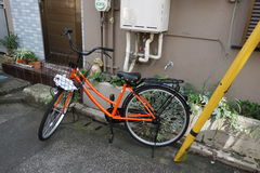 Japanisches Fahrrad Lizenzfreie Stockfotos