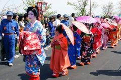 Japanisches Festival Stockfotos
