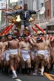 Japanisches Festival in Kagoshima Stockfotografie