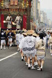 Japanisches Festival mitten in Juli Lizenzfreie Stockfotos