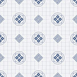 Japanisches geometrisches nahtloses Muster vektor abbildung