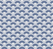 Japanisches geometrisches nahtloses Muster stock abbildung
