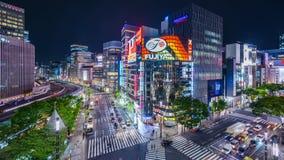 Japanisches Ginza stock video
