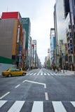 Japanisches Ginza stockbild
