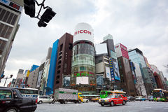 Japanisches Ginza Stockfoto