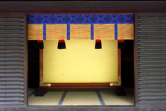 Japanisches Haus stockfoto