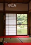 Japanisches Haus Stockfotos