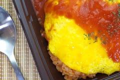 Japanisches Kücheomelett Lizenzfreie Stockbilder