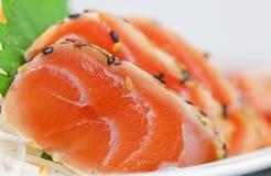 Japanisches Lebensmittel auf Teller Stockbild