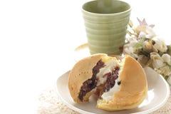 Japanisches Lebensmittel, süßer Wannenkuchen Imagawayaki Lizenzfreies Stockbild