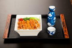 Japanisches Lebensmittelmaterial Stockfotografie