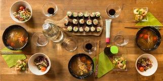 Japanisches Mittagessen Lizenzfreies Stockbild