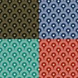 Japanisches Muster Stockbild