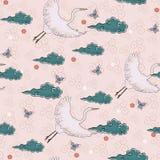 Japanisches Muster Stockfotografie