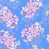 Japanisches nahtloses Muster Stockfotografie