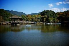 Japanisches pavillion in Nara Japan stockbilder