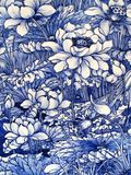 Japanisches Porzellanfliesepanel datiert 1875