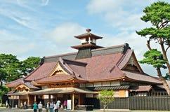 Japanisches Regierungsgebäude der alten Art Lizenzfreies Stockbild