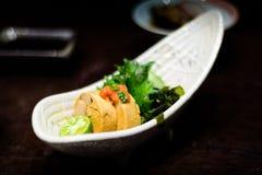 Japanisches Snack-Food Stockbild