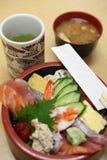 Japanisches Sushi-Set lizenzfreie stockbilder