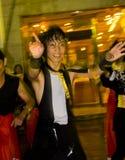 Japanisches Tänzerfestival Lizenzfreie Stockbilder