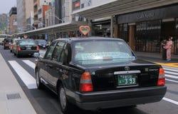 Japanisches Taxi Japan Lizenzfreie Stockbilder