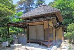 Japanisches Tee-Haus Stockfotografie