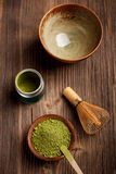 Japanisches Teezeremoniebild Stockfoto