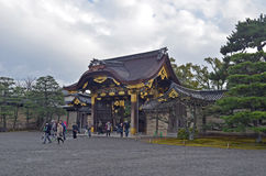 Japanisches Tempel-Äußeres Stockfotos