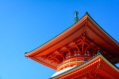 Japanisches Tempel-Detail stockbilder