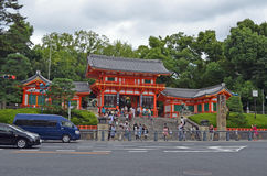 Japanisches Tempel-Tor Lizenzfreie Stockbilder