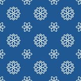 Japanisches traditionelles klassisches Muster stock abbildung
