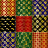 Japanisches traditionelles Muster Stockbild