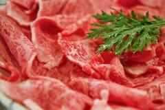 Japanisches wagyu Rindfleisch Lizenzfreies Stockfoto