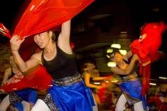 Japanisches weibliches Tänzerfestival maturi Stockbild