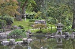 JapanKyoto trädgård Holland Park London Fotografering för Bildbyråer