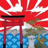 japans stock illustratie