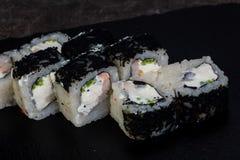 Japans broodje met garnaal royalty-vrije stock foto's