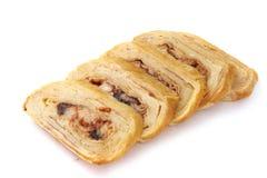 Japans broodje met omelettamago en zeevruchten Royalty-vrije Stock Afbeeldingen