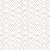 Japans, Chinees traditioneel Aziatisch geometrisch naadloos patroon stock illustratie