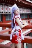 Japans cosplay meisje Royalty-vrije Stock Foto