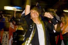 Japans dansersfestival royalty-vrije stock foto's