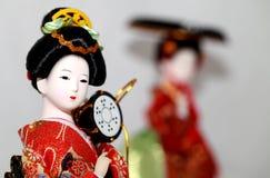 Japans Doll Royalty-vrije Stock Fotografie