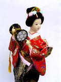 Japans Doll Royalty-vrije Stock Afbeeldingen