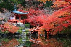 Japans-gestileerd Paviljoen Royalty-vrije Stock Foto's